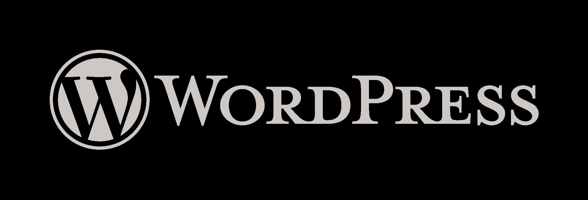 Wordpress.org logo white